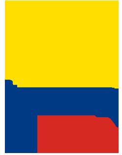 Mapa Columbie