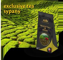 Exclusive tea - sypaný