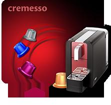 Kávovary Cremesso