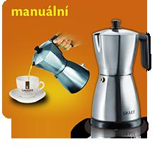 Manuální kávovary